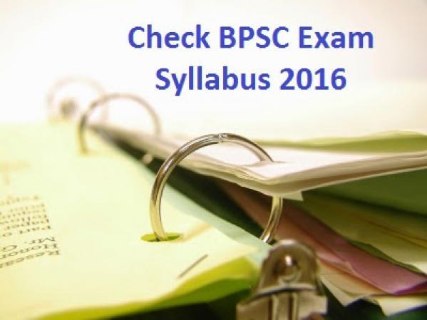 Sllybus BPSC 60Th-62ND Civil Service Examination